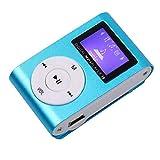 Drumstone Digital Mini Clip MP3 Player with Micro TF/SD Card...