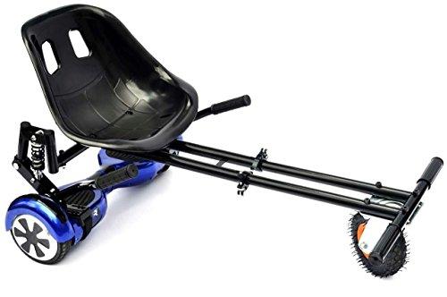 Hoverkart et Hoverseat – Châssis et siège pour planche Hoverboard 6,5/8/10 ' avec suspension Kit...