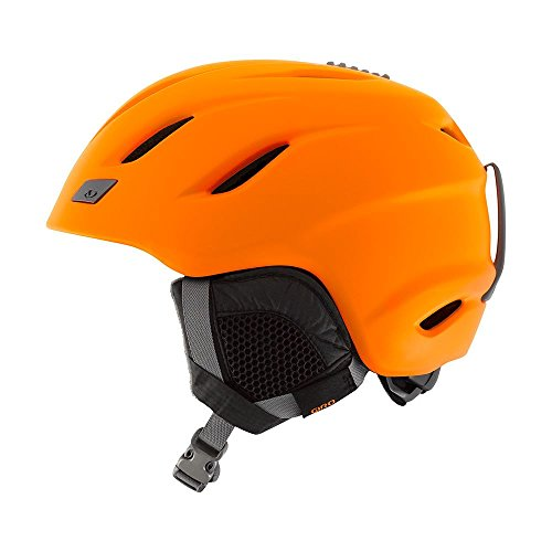 Giro Nine Snow Helmet - Men's Matte Flame Orange Small