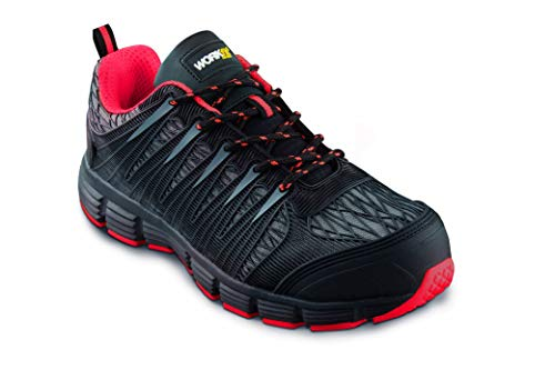 Zapato Seguridad WORKFIT Spider Rojo S1P (42)