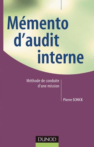 Memento d'audit interne