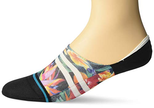 Stance Men's NO Show Sock PAU ST Liner, Black, Large