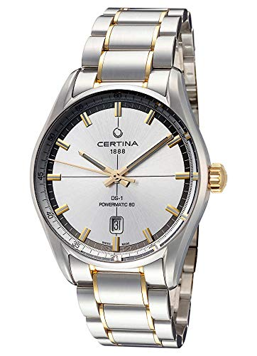Certina Powermatic C029.407.22.031.00 DS-1 - Reloj de pulsera analógico automático para hombre