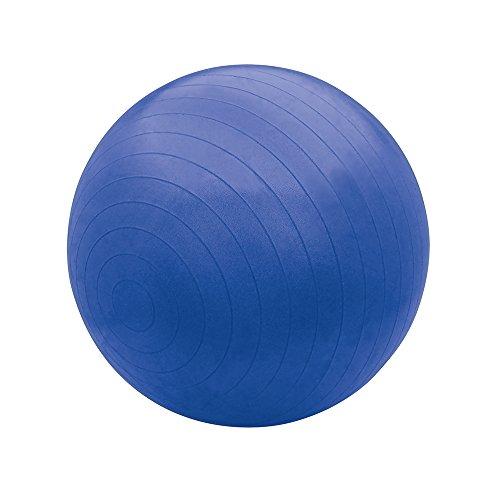 Bollinger 65cm Pro Anti-Burst Body Ball with Inflation Pump, Blue