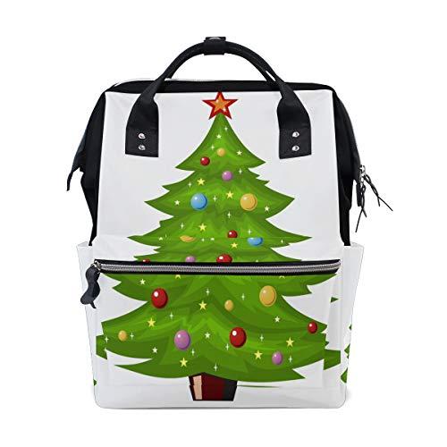 Emoya Mochila Casual Estilo médico para árbol de Navidad, Bolsa de Viaje para la Escuela, para Mujeres, Hombres, Universidad, Adolescentes.