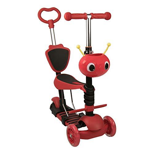 Airel Scooter 5 in 1 | Roller Für Kinder | Scooter 3 Räder Kinder | Fahrrad ohne Pedale | Kinderscooter Laufrad