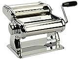 Innovee Nudelmaschine höchster Qualität – 150 Rolle mit Pasta-Schneidemaschine – 9 verstellbare Dickeeinstellungen – Für perfekte Spaghetti oder Fettuccini – Wärmebehandelten Zahnräder zu langer Nutzungsdauer - 6