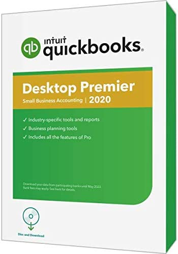 Intuit QuickBooks Desktop Premier 2020 Traditional Physical CD product image