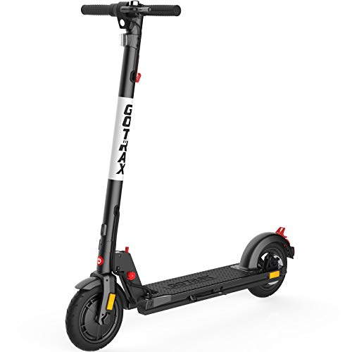 Gotrax XR Elite Electric Scooter, 18.6 Miles Long-range Battery, Powerful 300W Motor Up to 15.5 MPH, 8.5' Pneumatic Tires, UL Certified Adults Electric Commuter Scooter