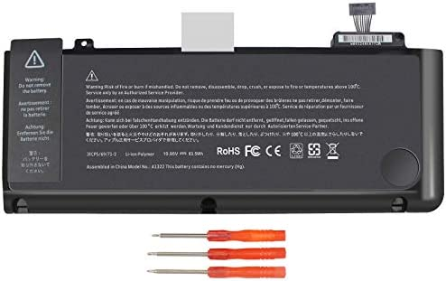 A1321 A1286 Laptop Battery for MacBook Pro 15 Inch Mid 2009 Mid 2010 Replacement for MacBook product image