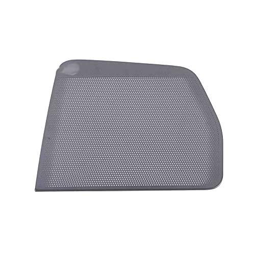 gis Ajuste para Ford Explorer 2020 2021 Cubierta de altavoz de puerta de acero inoxidable Cubierta de altavoz de la puerta de la puerta del acorte del alaíz del techo del automóvil Accesorios de estil