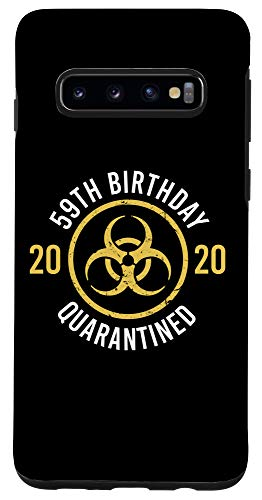 Galaxy S10 Funny 59th Birthday 2020 Bday Turning 59 Years Old Joke Gift Case