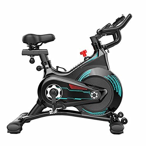 Bicicleta en interior,capacidad de peso de 330 lbs, asiento para el entrenamiento de cardio en el hogar, ejercicio de entrenamiento de oficina de ejercicio bicicletas