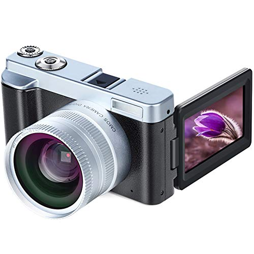 Harwls Digitale videocamera, recorder, HD 1080P WiFi 3 inch scherm, Wide groothoeklens