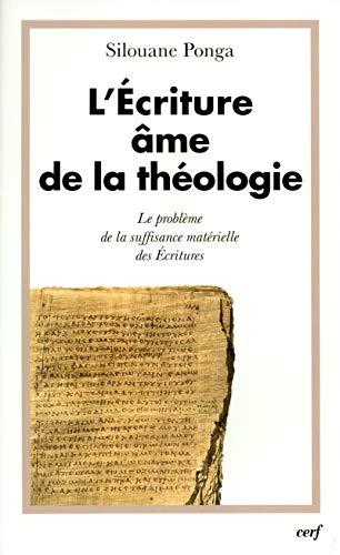 L'Écriture, âme de la théologie