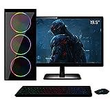 PC Gamer Completo Monitor HDMI 19.5' Intel Core i5 8GB HD 1TB Geforce GT 730 2GB Quantum XTX
