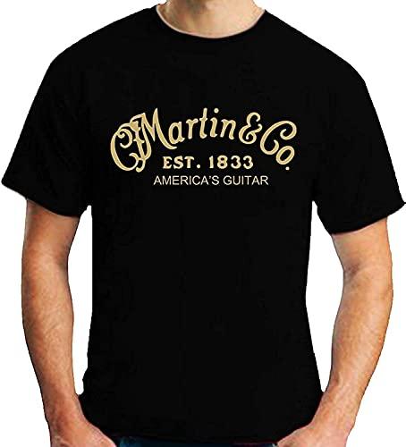 Jersy Knit Soft Martin & CO Black Camisetas Moda Hombre Comodidad Suave Camisetas de Manga Corta Camisa atlética del Entrenamiento del Gimnasio del músculo T-Shirt