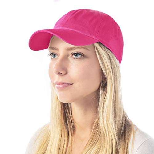 The Hat Depot 300N Washed Cotton Low Profile...