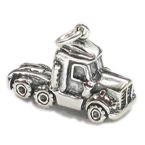 Para Taxi Camión Semi stobart de pulsera de plata de ley 925. 1 x ejes colgantes taxis DKC9429