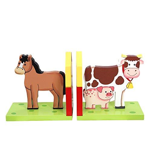 Fantasy Fields KinderHappy FarmBauernhof Kids Holz-BuchstützenTD-11327A