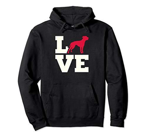 American Bulldog Hoodie - Dog LOVE Sweatshirt