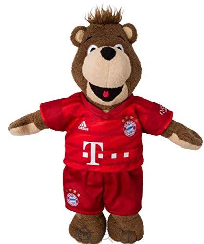 FC Bayern München Berni 35 cm kompatibel + Sticker, FCB Maskottchen