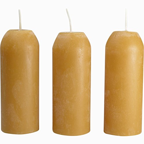 UCO Original Bees Wax Candle (Pack of 3) -Yellow
