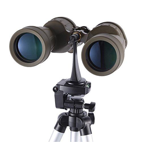 Eyeskey Metal Binoculars Tripod Mount Adapter 1/4 Inch Threading,Black