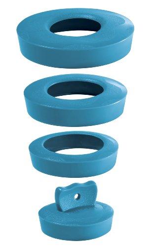 Wirquin 39224101 - Tappo universale per vasca da bagno, bidet o lavandino