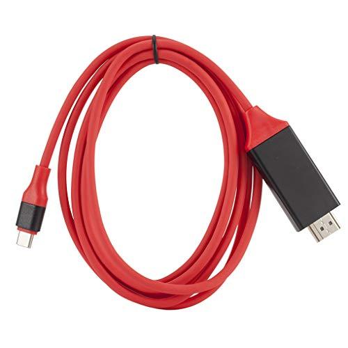 Yihaifu Typ-C-HD-Adapter-Kabel Vergolden Anschlüsse USB 3.1 bis 4K HD Verlängerungskabel für Handys