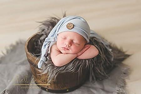 Newborn Prop Layering Blanket Rug Faux Mongolian Fur Photography Prop Medium, 20x36, Rust Red//Orange Basket Stuffer