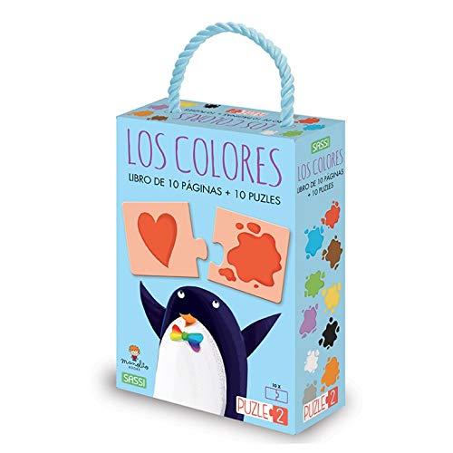 Los colores. Puzle 2 - Vertical. Edic. ilustrado (Español)
