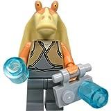 LEGO Star Wars - Figura de Jar Jar Binks (del Juego 7929) con Accesorios