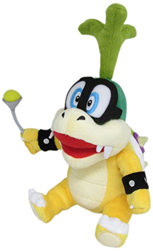 Little Buddy Super Mario Series Iggy Koopa 8' Plush