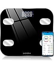 体重計 体脂肪計 体組成計 ヘルスメーター bluetooth スマホ連動 USB充電式 アプリと同期 体重/BMI/体脂肪率/筋肉量/体水分率/内臓脂肪レベル/骨量/基礎代謝量8項目測定可能 デジタル ボディスケール スマートスケール