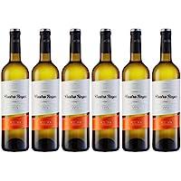 Cuatro Rayas Verdejo Vendimia Nocturna - 6 Botellas de 750 ml - Total: 4500 ml