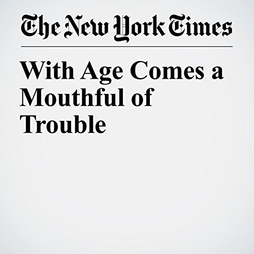 With Age Comes a Mouthful of Trouble copertina