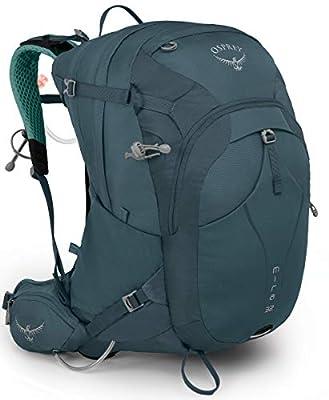 Osprey Mira 32 Women's Hiking Hydration Backpack, Bahia Blue, One Size