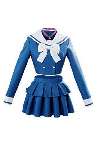 Killing Harmony Tenko Chabashira Traje Cosplay Disfraz Marinera Colegiala Uniforme Marineros Disfraz Costume personalización