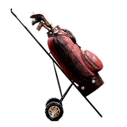 DeepBlue Moderne Eenvoudige Hars Ambachten Creatieve Retro Golf Clubs Figurines Miniatuur Sport Golf Ornamenten Zakelijke Geschenken Home Decoratie