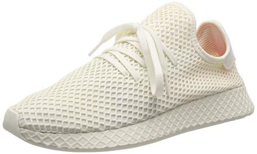 adidas Deerupt Runner Zapatillas de Gimnasia Hombre, Blanco (Off White/Ftwr White/Shock Red Off White/Ftwr White/Shock Red), 36 2/3 EU (4 UK)