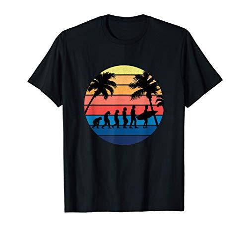 Evolución del surf retro, las tablas de surf y los regalos Camiseta