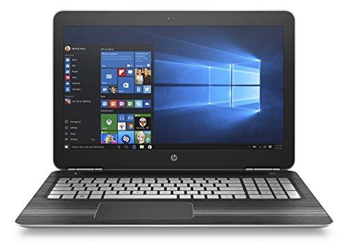 HP Pavilion 15-bc018nl Notebook, Intel Core i7-6700HQ, RAM 8 GB, Hard Disk 1 TB, Scheda Grafica nVidia GeForce GTX 950M con 2 GB dedicati, Display 15.6 , Argento