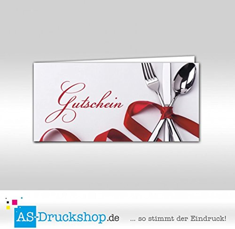 Gutschein Gutschein Gutschein Gastronomie   Essen - Besteck   100 Stück   DIN Lang B0794X3C7M | Online einkaufen  4dd0df
