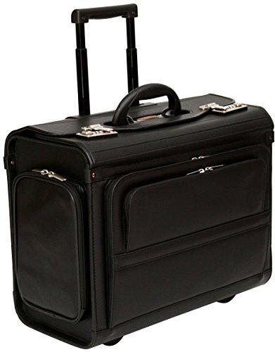Tassia - valigia pilota bagaglio a mano - con rotelle - per laptop fino a 17,3