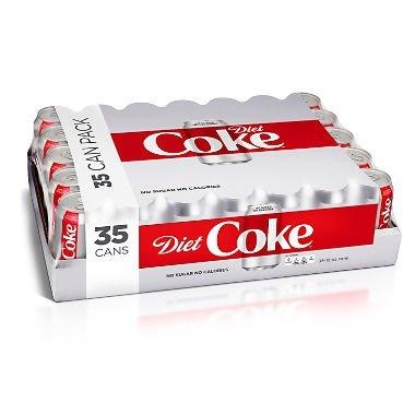 Diet Coke 12 oz. cans, 35 pk. A1