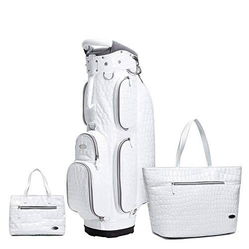 Jtoony Borsa da Golf delle Donne Golf Bag Set Golf Carry Bag Lightweight Golf Travel Organizer, Golf Equipment Kit Include 1 Ladies Golf Borse, 1 Campo da Golf Sacchetto di Vestiti, 1 Sacca da Golf