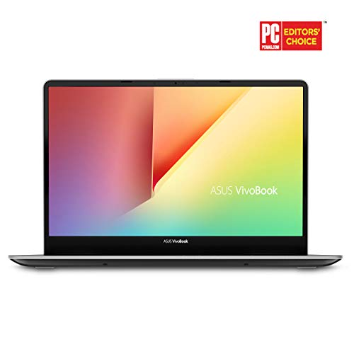 "ASUS Vivobook S15 Slim and Portable Laptop, 15.6"" Full HD NanoEdge Bezel, Intel Core I5-8265U Processor, 8GB DDR4, 256GB SSD, Windows 10 - S530FA-DB51, Gun Metal with Light Grey Trim"