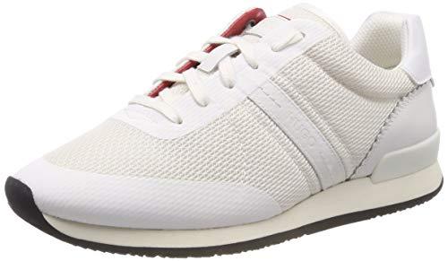 HUGO Adrienne-TPU, Zapatillas Mujer, Blanco (White 100), 40 EU