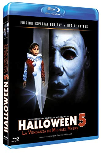 Halloween 5- La Venganza de Michael Myers BD + DVD Extras 1989 Halloween 5: The Revenge of Michael Myers [Blu-ray]